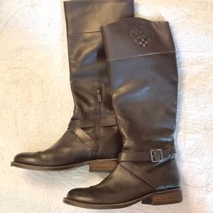 Vince Camuto Brown Leather Boots